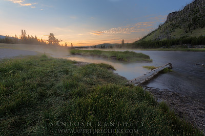 Firehole River Sunrise
