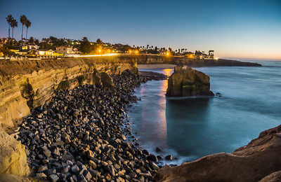 Sunset Cliffs After Dark