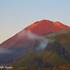 Sunset on Mt. Doom