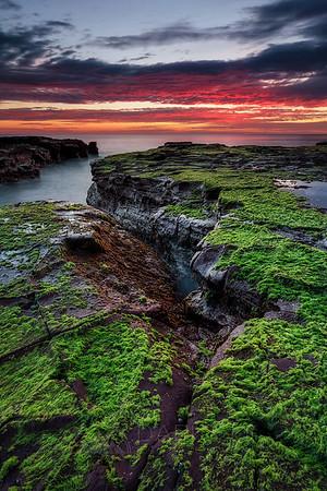 Sunrise at The Edge of Earth