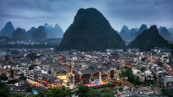 Yangshuo Dusk