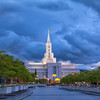 Spring Storm over the Bountiful Temple