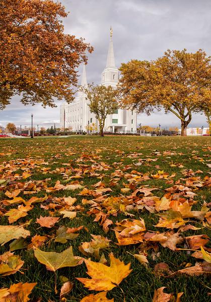 Brigham City Temple - Autumn