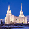 Brigham City Temple - Winter