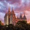 Salt Lake City Temple - Summer