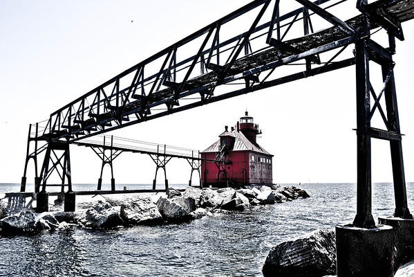 STURGEON BAY CANAL NORTH PIERHEAD LIGHT