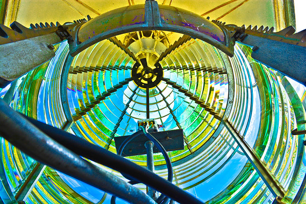 CANA ISLAND LIGHTHOUSE-FRESNEL LENS