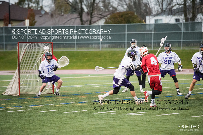 2014-11-08 McGill Redmen vs Western Mustangs