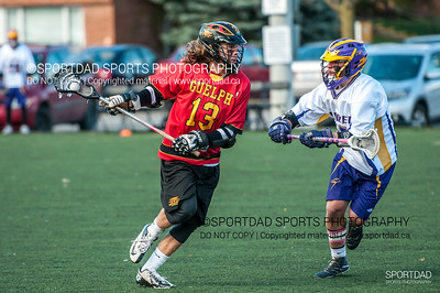 Guelph Gryphons at Laurier Golden Hawks
