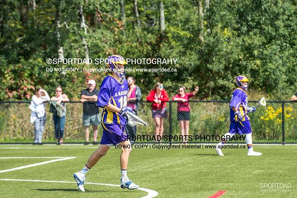 Laurier Golden Hawks at Guelph Gryphons, Men's CUFLA field lacrosse