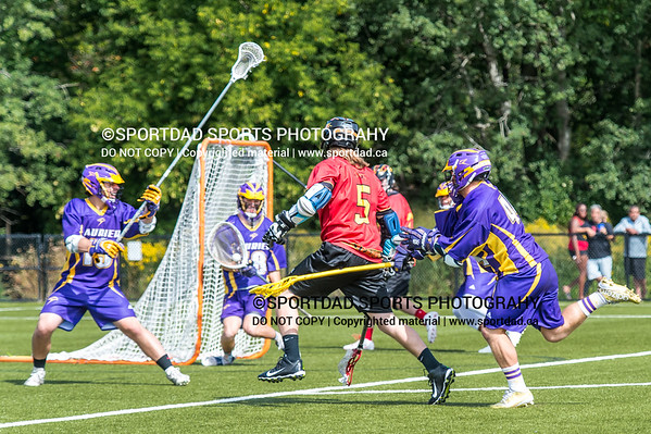 Laurier Golden Hawks at Guelph Gryphons, Men's CUFLA field lacrosse