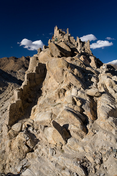 The ruins of Shey palace, Ladakh