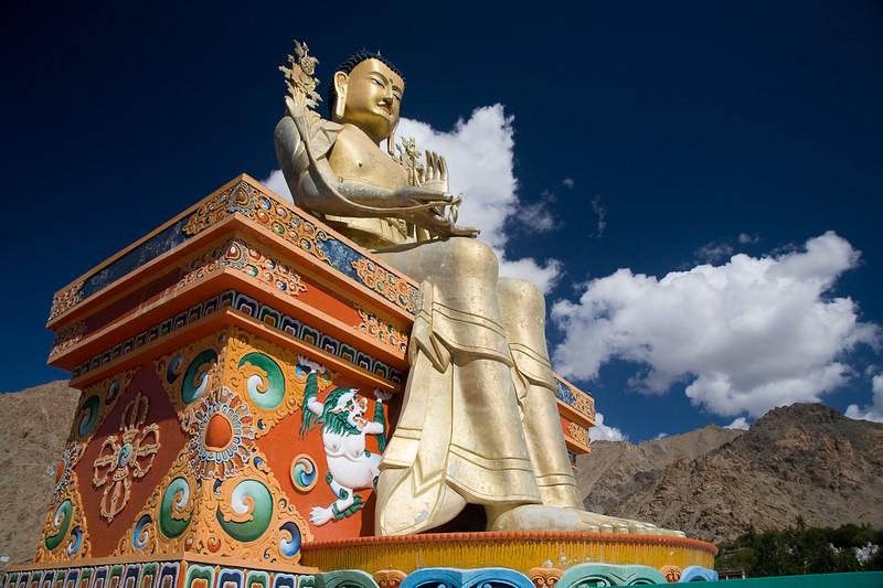 Buddha, Likir Gompa, Ladakh