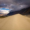 Sand dunes in the Nubra Valley near Hundar, Ladakh