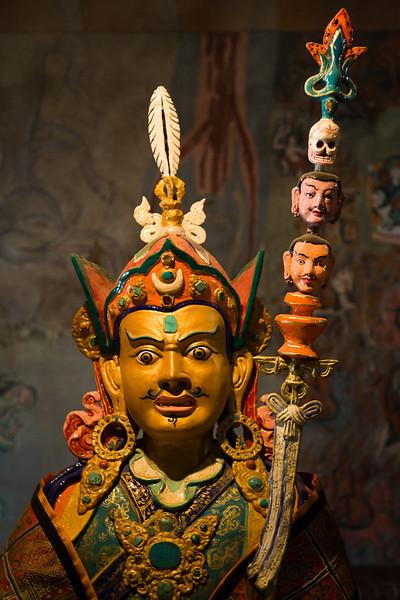 Guru Rinpoche, Thikse Gompa, Ladakh