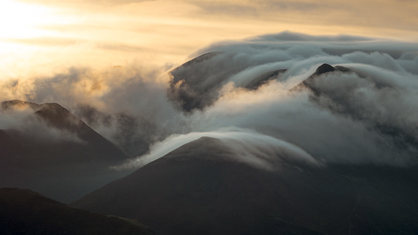 Lakeland Mountain Clouds
