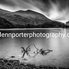 Looking towards Brown Cove Crags on Helvellyn from Thirlmere. Lake District.