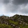 Hall's Fell Ridge leading to Blencathra, Lake District.