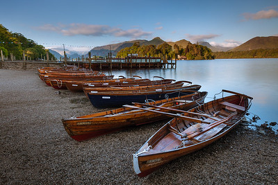 Boats Lined Up