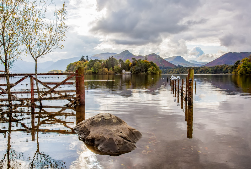 Through The Gate at Derwentwater