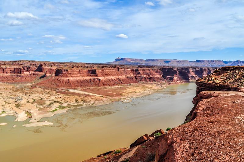 The Colorado River Enters Glen Canyon