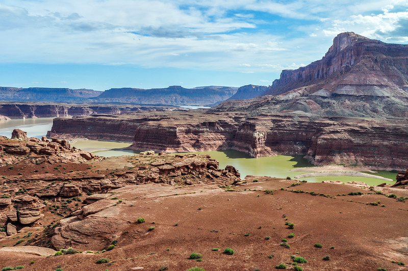 Desert Landscape of the Glen Canyon