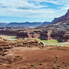 Desert Landscape of the Glen Canyon