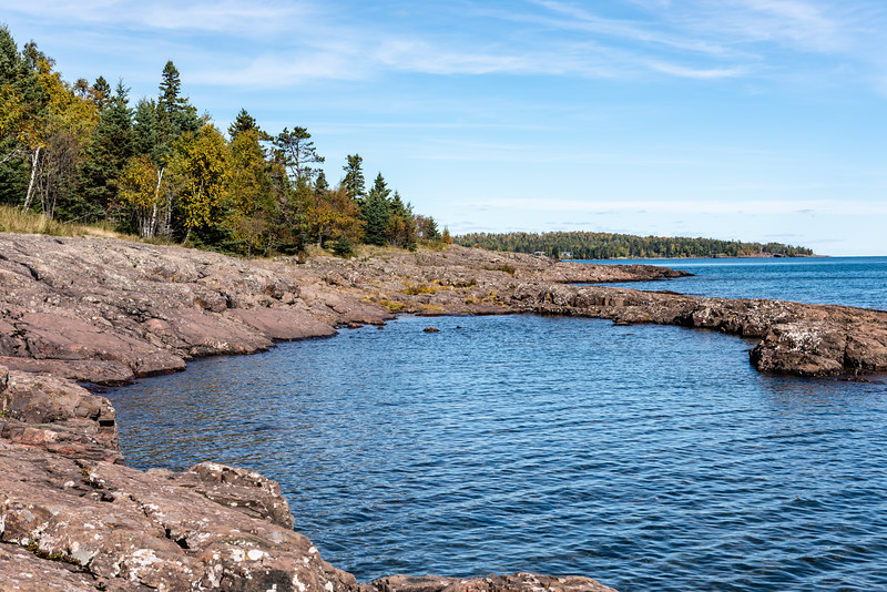 Lake Superior Rocky Coastline