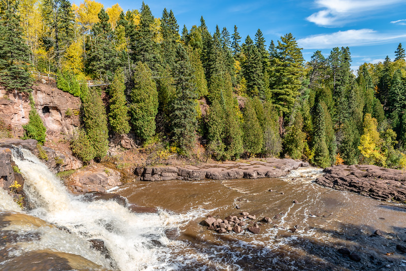 Flowing Waters of the Gooseberry River