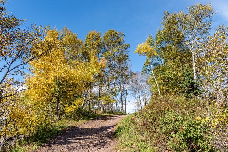 Autumn Hike Near Two Harbors
