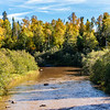 Fall Scene at Gooseberry Falls State Park