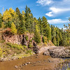 Autumn Colors at Gooseberry Falls State Park