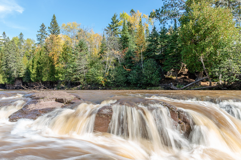 Fall Colors and Flowing Watars