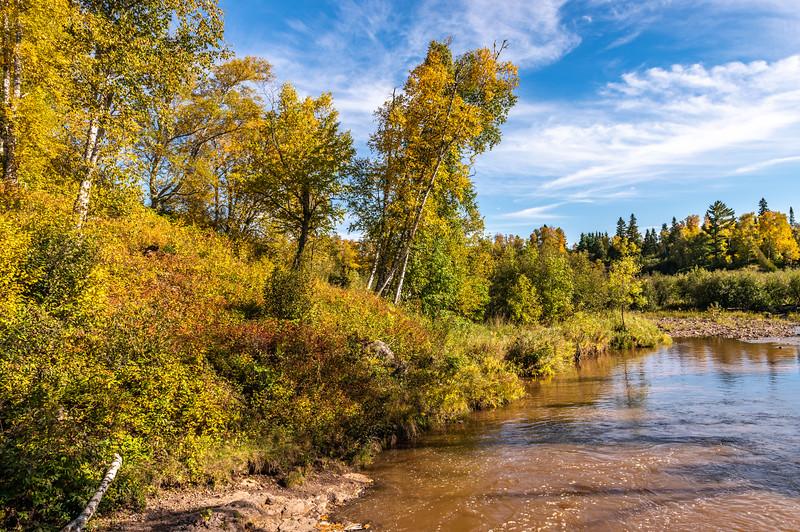 Beginning of Autumn in Minnesota