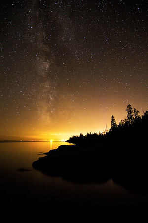 Stony Point and Milky Way