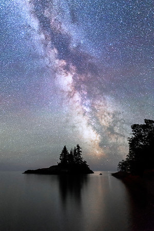 North Shore Milky Way and Island