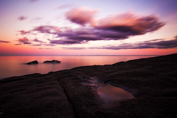 Brighton Beach Sunset 2