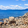 Boulder Beach on Lake Tahoe