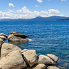 Big Boulders on Lake Tahoe
