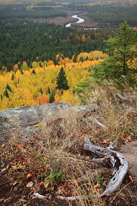 Poplar River Overlook in Autumn