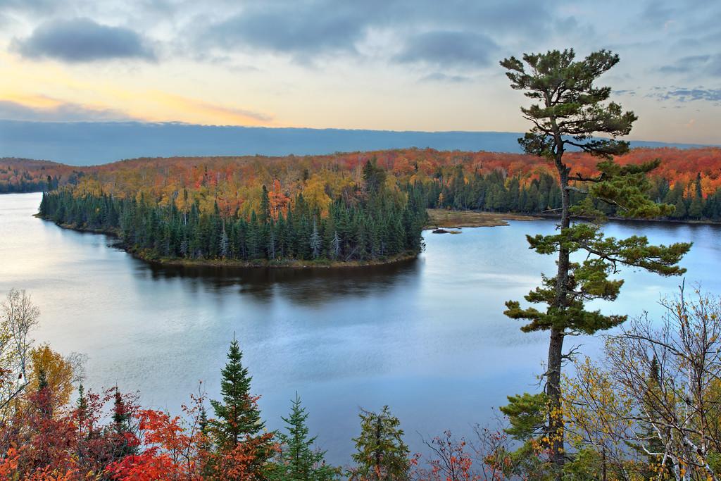Autumn Dawn - Hunter's Rock