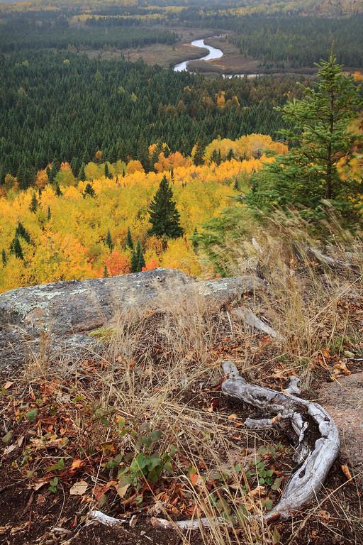 Poplar River Overlook in Autumn