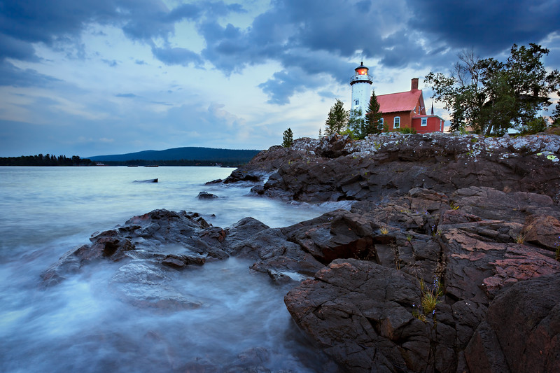 Before the Storm - Eagle Harbor Light