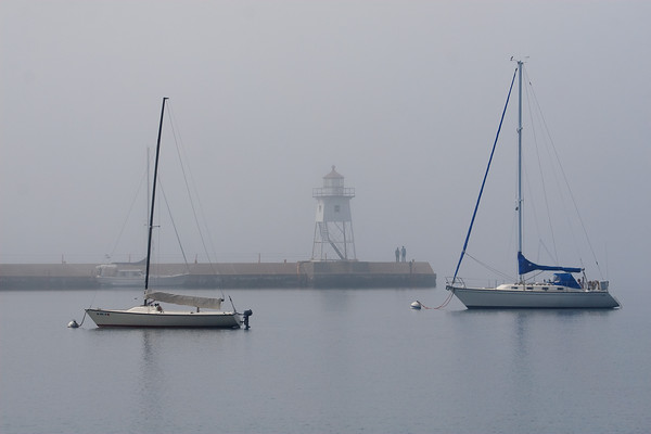 Lazy, Hazy Harbor
