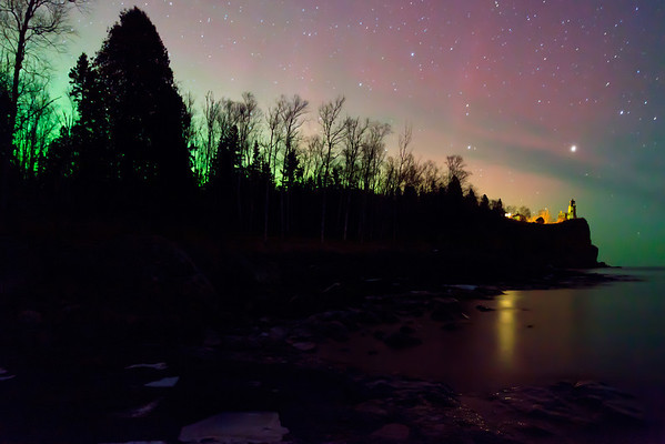 Split Rock Aurora