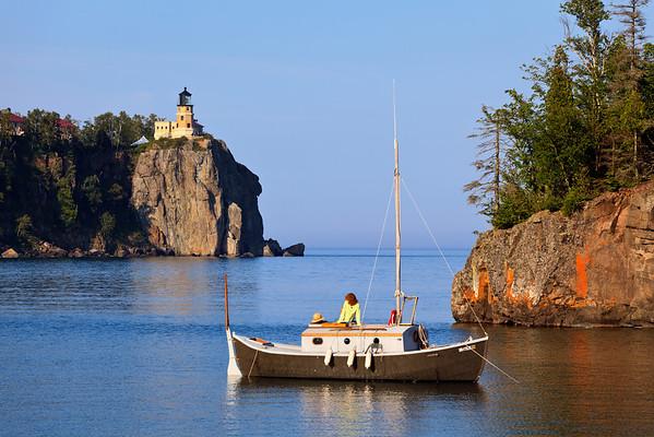 Boater's View - Split Rock Lighthouse