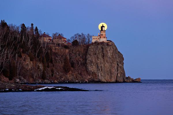 Perfect Conjunction - Split Rock Lighthouse