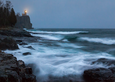 November Gale - Split Rock Lighthouse