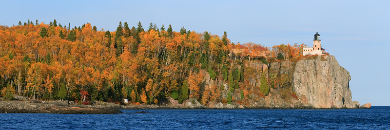 Split Rock Autumn Panorama