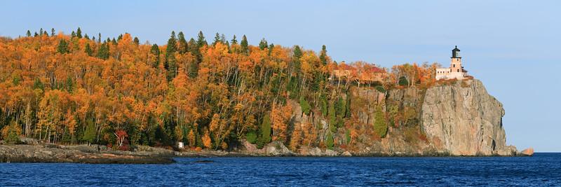 Split Rock Autumn Panorama